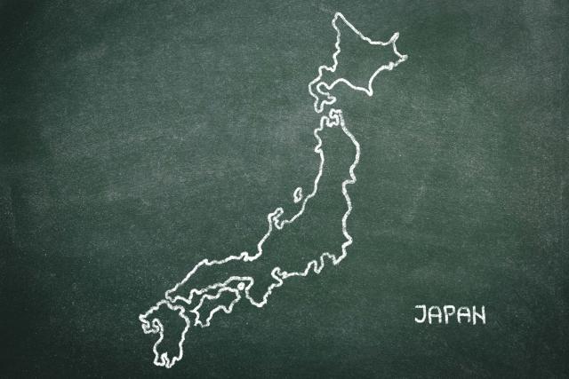 【画像】日本地図